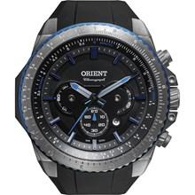 Relógio Orient Masculino Titânio Cronógrafo Preto Azul MBTPC004 G1PX