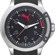 Relógio Puma Masculino Prata Preto 96260G0PMNU4