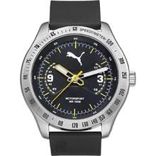 Relógio Puma Masculino Prata Preto 96262G0PMNU1