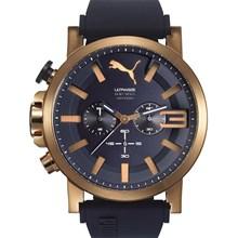 Relógio Puma Ultrasize Cronógrafo Masculino Azul Rose 96258GPPSRU5