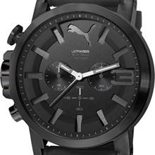 Relógio Puma Ultrasize Cronógrafo Masculino Preto 96258GPPSPU2