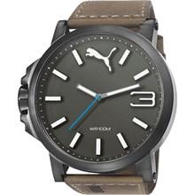 Relógio Puma Ultrasize Masculino Cinza Marrom 96239GPPMSC4