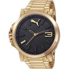 Relógio Puma Ultrasize Masculino Dourado Preto 96217GPPMDA2