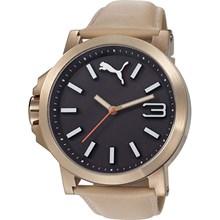 Relógio Puma Ultrasize Masculino Marrom Preto 96217GPPMRC4