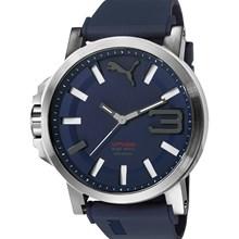 Relógio Puma Ultrasize Masculino Prata Azul 96252G0PSNU3