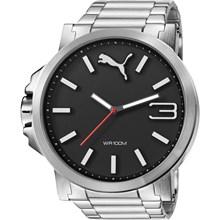 Relógio Puma Ultrasize Masculino Prata Preto 96216G0PMNA3