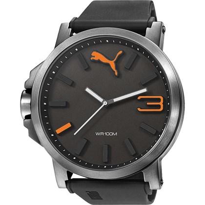 Relógio Puma Ultrasize Masculino Preto 96239G0PMNU2