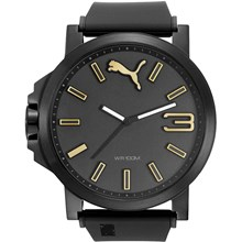 Relógio Puma Ultrasize Masculino Preto 96252GPPSPU6