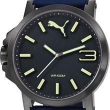 Relógio Puma Ultrasize Masculino Preto Azul 96216GPPMPU4
