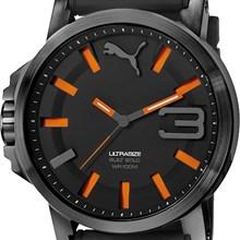 Relógio Puma Ultrasize Masculino Preto Laranja 96252GPPSSU1
