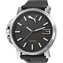 Relógio Puma Ultrasize Masculino Preto Prata 96218G0PMNU1