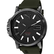 Relógio Puma Ultrasize Masculino Preto Verde 96252GPPSPU2