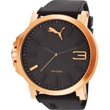 Relógio Puma Ultrasize Masculino Rose Preto 96179GPPMRU4