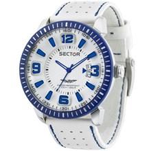Relógio Sector 400 Masculino Branco Azul WS31946A