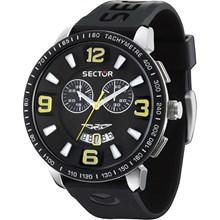 Relógio Sector 400 Masculino Cronógrafo Prata Preto WS31982T