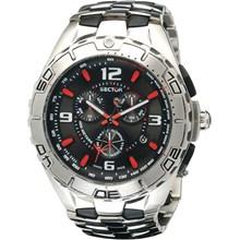 Relógio Sector Masculino Cronógrafo Swiss Safira WS30134T