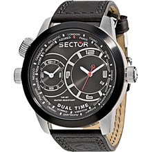Relógio Sector Oversize Dual Time Masculino WS31777P