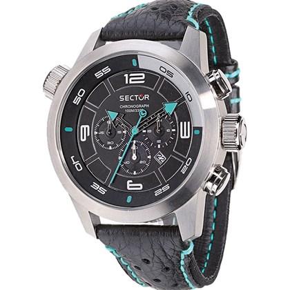 a691dead0f1 Relógio Sector Oversize Masculino Cronógrafo Prata Preto WS31562T ...