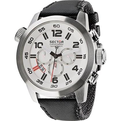 16d4ef9458eee Relógio Sector Oversize Masculino Cronógrafo Prata WS31811Q - My Time