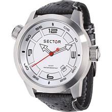 Relógio Sector Oversize Masculino Prata Branco WS30652Q