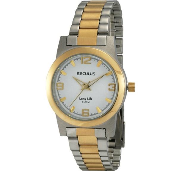 Relógio Seculus Feminino 28040LPSLBAB