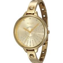 Relógio Seculus Feminino Dourado 13003LPSVDA2