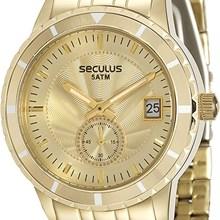 Relógio Seculus Feminino Dourado 28708LPSVDS4