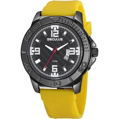 c38d3492e91 Relógio Seculus Masculino 23650GPSVPI1 - My Time