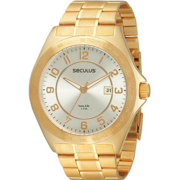 Relógio Seculus Masculino 28155GPSBDA2