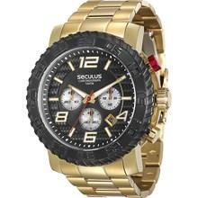 Relógio Seculus Masculino Cronógrafo 28674GPSVDA1