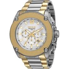 Relógio Seculus Masculino Cronógrafo Misto Branco 20082GPSGBA1