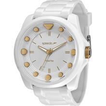Relógio Speedo Feminino Branco Dourado 80582L0EVNP1