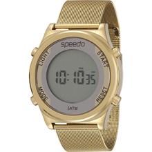 Relógio Speedo Feminino Dourado Esteira 24850LPEVDS1