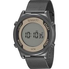 Relógio Speedo Feminino Preto Dourado Esteira 24850LPEVPS2