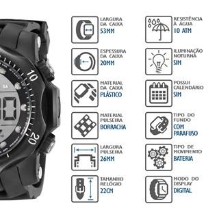 Relógio Speedo Masculino 11005G0EVNP7