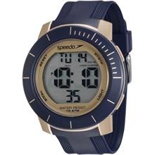 Relógio Speedo Masculino Azul Dourado 80601G0EVNP3