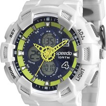 Relógio Speedo Masculino Branco Azul 65075G0EVNP7