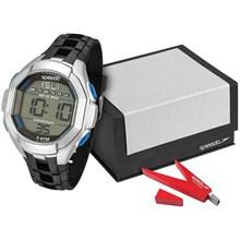 Relógio Speedo Masculino KIt Pendrive Preto Prata 81106G0EKNP3K2