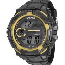 Relógio Speedo Masculino Preto Amarelo 65087G0EVNP2