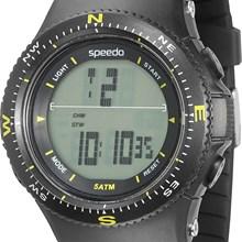 Relógio Speedo Masculino Preto Amarelo 81087G0EGNP2