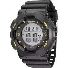 Relógio Speedo Masculino Preto Amarelo 81096G0EVNP3