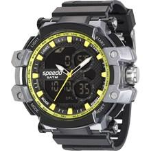 Relógio Speedo Masculino Preto Amarelo 81108G0EVNP2