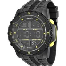 Relógio Speedo Masculino Preto Amarelo 81135G0EVNP1