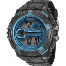 Relógio Speedo Masculino Preto Azul 65087G0EVNP1