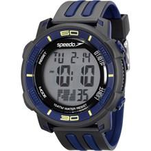 Relógio Speedo Masculino Preto Azul 80603G0EVNP3