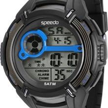 Relógio Speedo Masculino Preto Azul 81094G0EVNP2