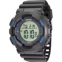 Relógio Speedo Masculino Preto Azul 81096G0EVNP2