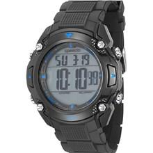 Relógio Speedo Masculino Preto Azul 81113G0EKNP3