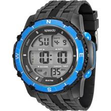 Relógio Speedo Masculino Preto Azul 81135G0EVNP2