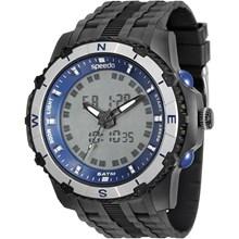 Relógio Speedo Masculino Preto Azul 81138G0EVNP2